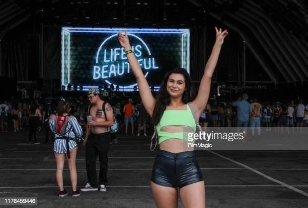 Festivalgoers during the 2019 Life is Beautiful Music & Art Festival – Atmosphere - Day 3 on September 22, 2019 in Las Vegas, Nevada.