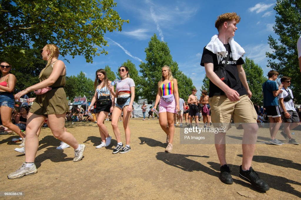 Wireless Festival - Day 1 - London : News Photo