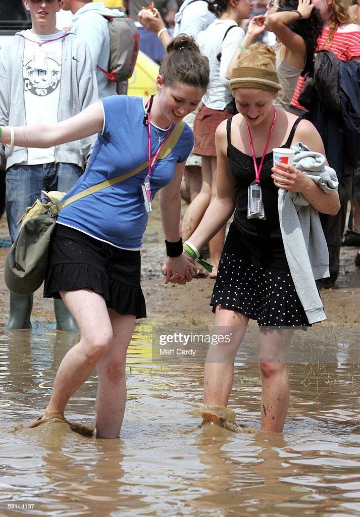 Glastonbury Music Festival 2005 - Day 1 : News Photo