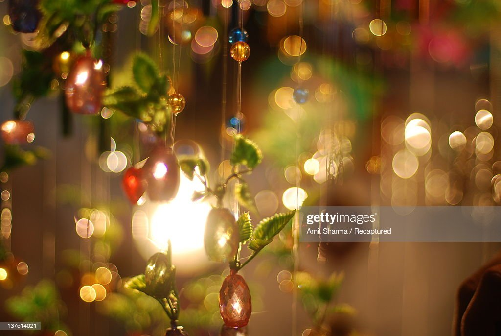 Festive decorations : Stock Photo