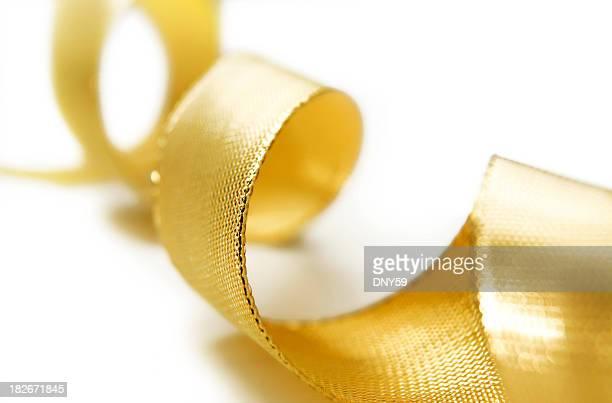 Festive Gold Ribbon
