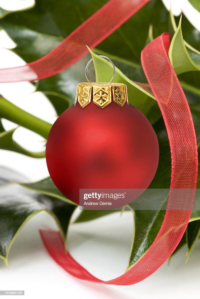 Festive Holly : Foto de stock