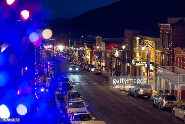 festive park city - park city utah stock pictures, royalty-free photos & images