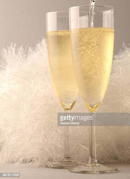 festive - champagne coloured stock photos and pictures