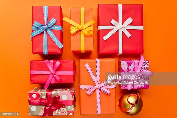 Christmas present getty images festively wrapped christmas gifts negle Images
