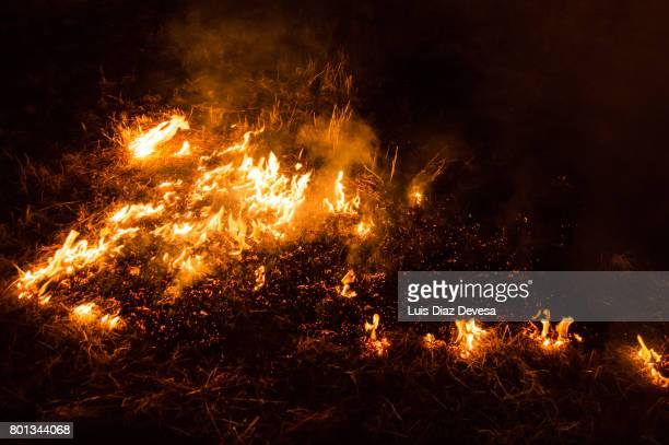 2017 Festivities of Saint Juan - Fire spreading