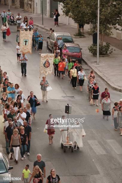 festivity of San'Anna in Alcamo, Sicily