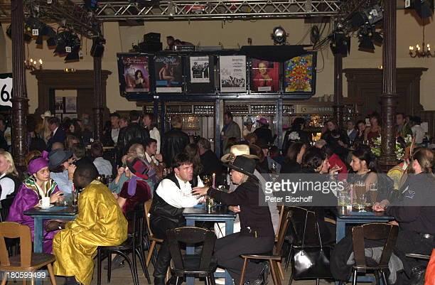 Festsaal 50 Geburtstag von Lisa Fitz Wirtshaus zum Schlachthof München Bayern Feier Party MottoBorn to be wild Essen Gast Gäste 682/2001
