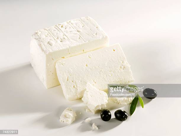Feta (sheep's cheese) and black olives