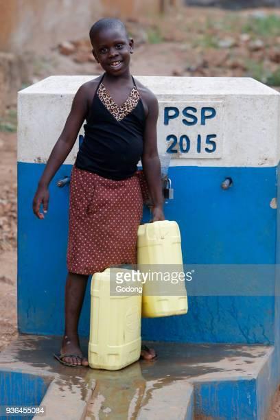 Fetching water in Masindi Uganda Uganda