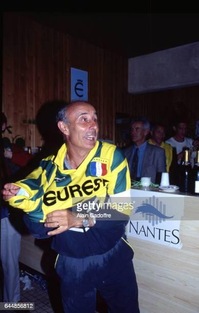 Fete du Titre de Champion / Jean Claude SUAUDEAU Nantes / Cannes 37eme journee de 1er division Match du titre pour Nantes Photo Alain Gadoffre / Icon...