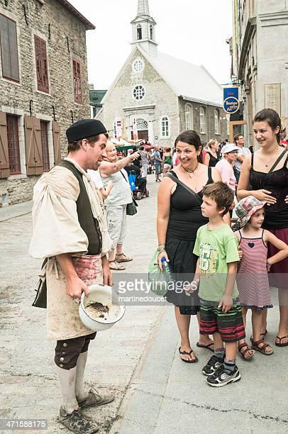 Fetes de la Nouvelle-Francia, Vieux-Québec.