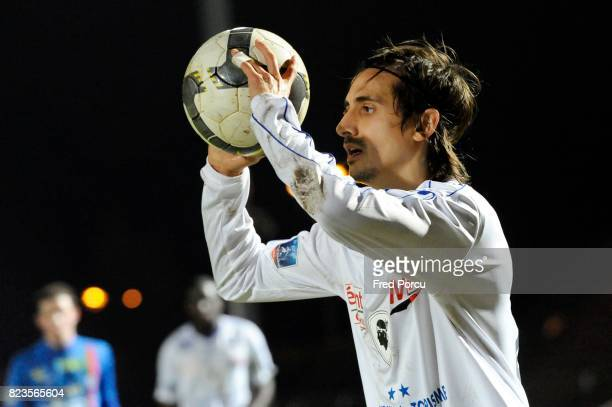 Fethi HAREK Creteil / Bastia 19eme Journee de National