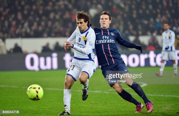 Fethi HAREK / Kevin GAMEIRO Paris Saint Germain / Bastia 24e journee Ligue 1 Photo Dave Winter / Icon Sport