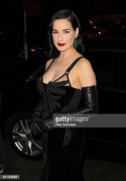 Dita Von Teese Launches 4th Fragrance Erotique At Fred Segal Photos and Premium High Res ...