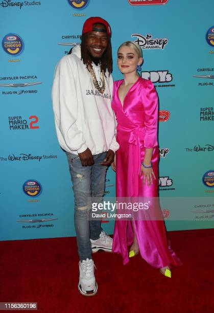 Fetty Wap and Meg Donnelly attend the 2019 Radio Disney Music Awards at CBS Studios Radford on June 16 2019 in Studio City California