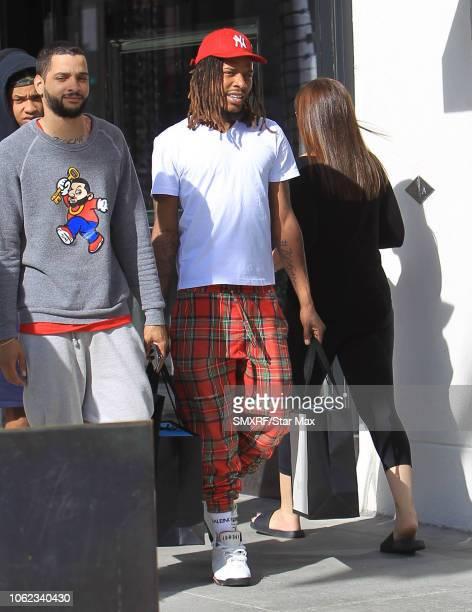 Fetty Wap is seen on November 15 2018 in Los Angeles CA