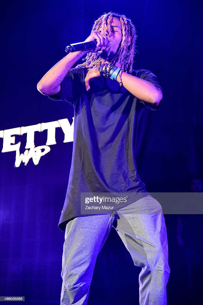 Fetty Wap performs at Nikon at Jones Beach Theater on August