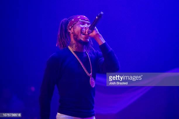 Fetty Wap performs at Orpheum Theater on December 28 2018 in New Orleans Louisiana