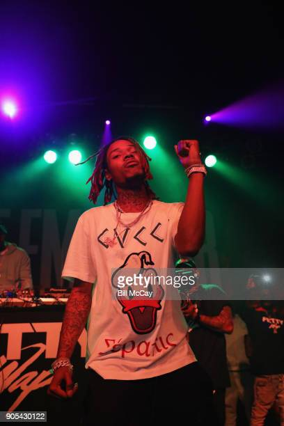 Fetty Wap performs at The Theater of the Living Arts January 15 2018 in Philadelphia Pennsylvania