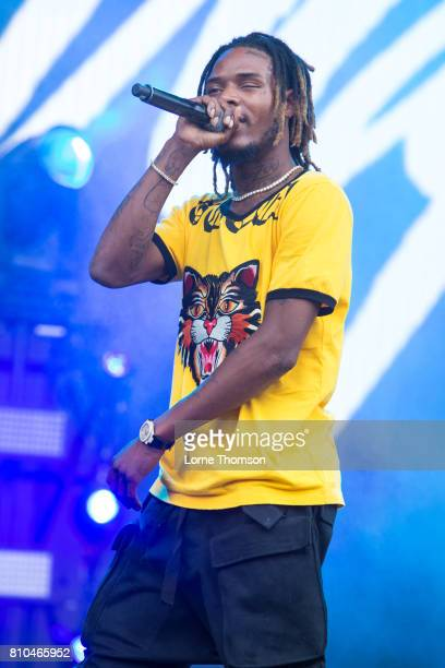 Fetty Wap performs at Wireless Festival Day 1 at Finsbury Park on July 7 2017 in London England