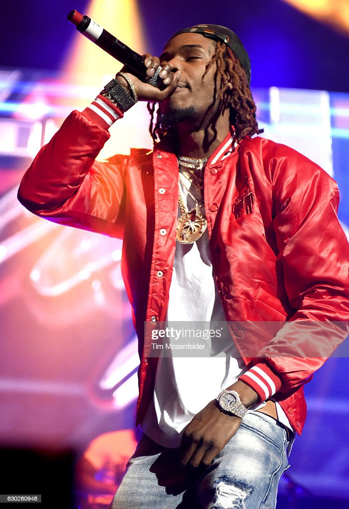 Fetty Wap performs during 106KMEL's Hip-Hop Holiday and
