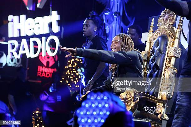 Fetty Wap performs during the 2015 Z100 Jingle Ball at Madison Square Garden on December 11 2015 in New York City