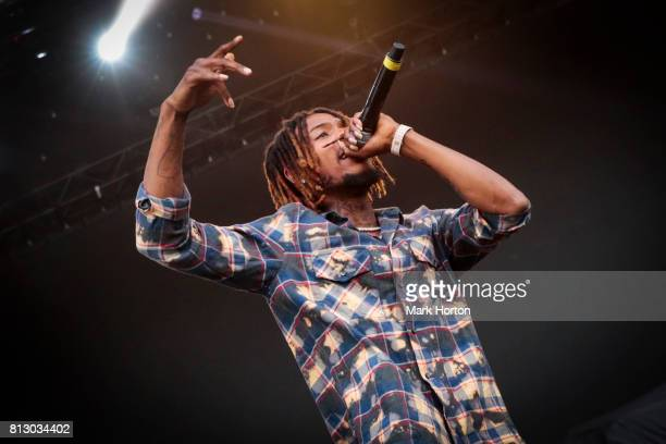 Fetty Wap performs on Day 5 of the RBC Bluesfest on July 11 2017 in Ottawa Canada