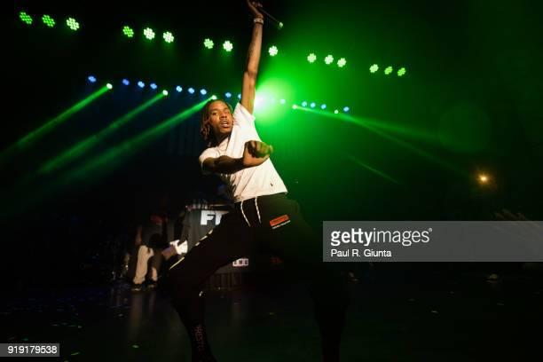Fetty Wap performs on stage at Buckhead Theatre on February 16 2018 in Atlanta Georgia