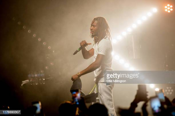 Fetty Wap performs on stage at o2 Forum Kentish Town on September 23 2019 in London England