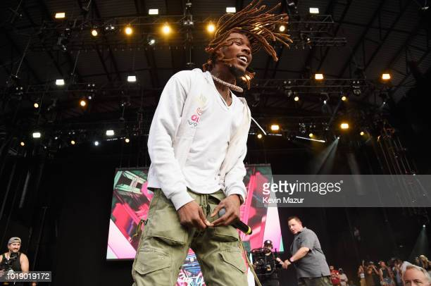 Fetty Wap performs onstage during Day 1 of Billboard Hot 100 Festival 2018 at Northwell Health at Jones Beach Theater on August 18 2018 in Wantagh...