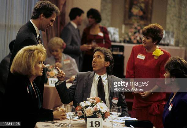 "Feud for Thought"" - Airdate: December 1, 1993. LEE GARLINGTON;MICHAEL TOLAND;TIM ALLEN;BONNIE HELLMAN;PATRICIA RICHARDSON"