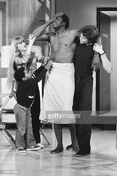 RENT STROKES 'Feudin' and Fussin part 1 and 2' Episodes 34 Pictured Gary Coleman as Arnold Jackson Kim Richards as Ruthie Alder Meadowlark Lemon as...