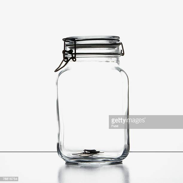 A Few Coins in a Mason Jar
