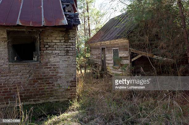 A few crumbling former slave cabins still remain along the banks of the Combahee River in rural Beaufort County South Carolina Once the heart of the...