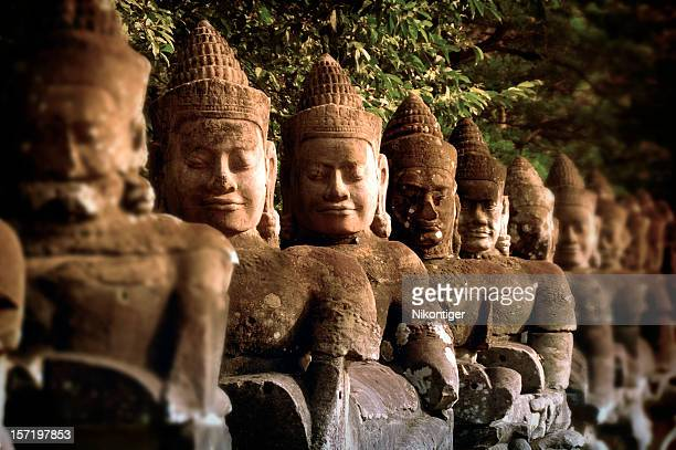 few good men - angkor stock photos and pictures