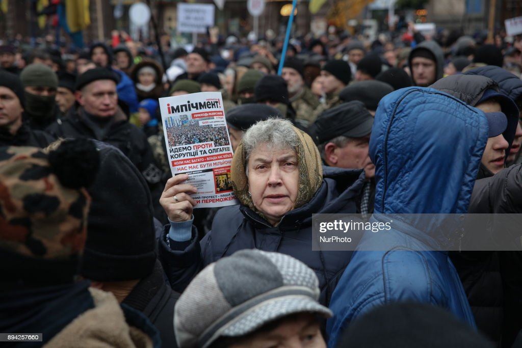 March for impeachment in Kiev
