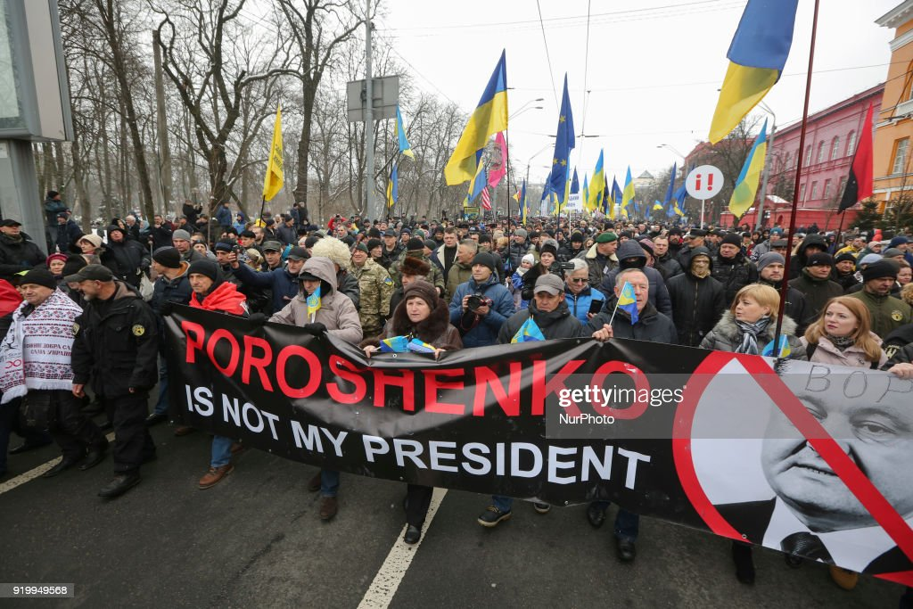 Rally for impeachment bill in Kiev