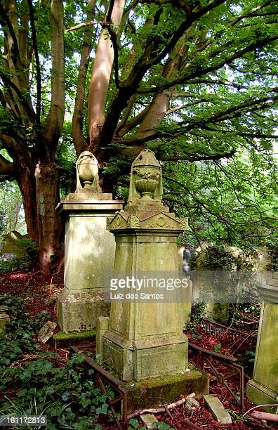 CONTENT] A few tombs at Highgate West Cemetery London