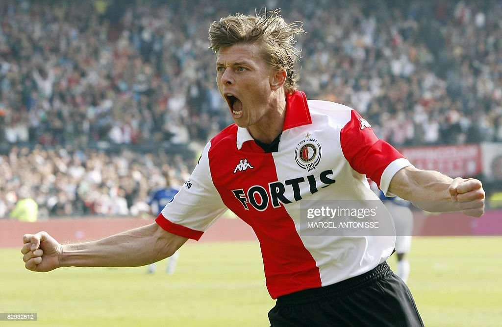 Feyenoord player Jon Dahl Tomasson celeb : News Photo