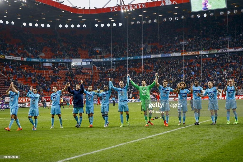 Dutch Eredivisie'FC Twente v Feyenoord' : News Photo
