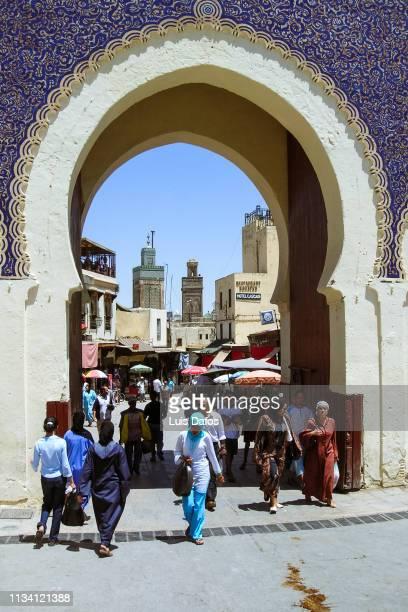 Fez, Bab Boujeloud city gate