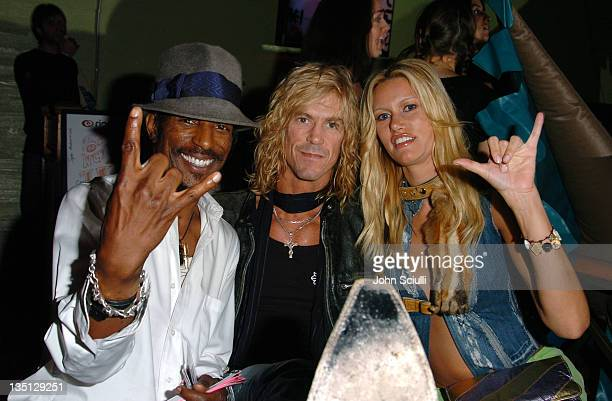 Fez Duff McKagan and Susan Holmes during Rip Curl Presents 'Sand Glam' Benefiting Heal the Bay Inside at Club 1650 in Hollywood California United...