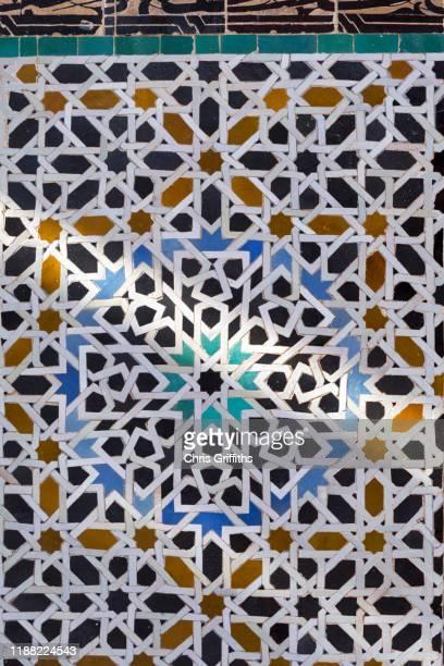 fez medina, middle atlas mountains, morocco - arabische kultur stock-fotos und bilder