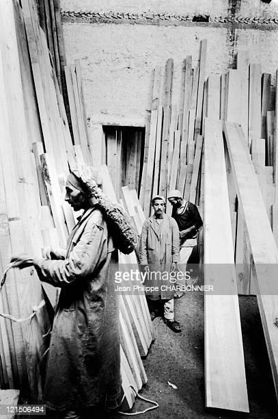 Fez, Morocco. Carpenters.