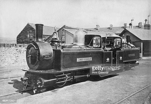 Ffestiniog Railway steam Locomotive No 8 'James Spooner' 1872 This 0440 Fairlie Patent locomotive was built by the Avonside Engine Company Ltd...