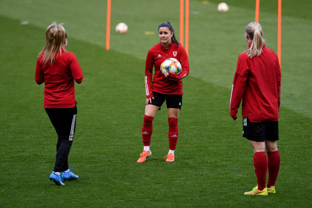 GBR: Wales Women Training Session