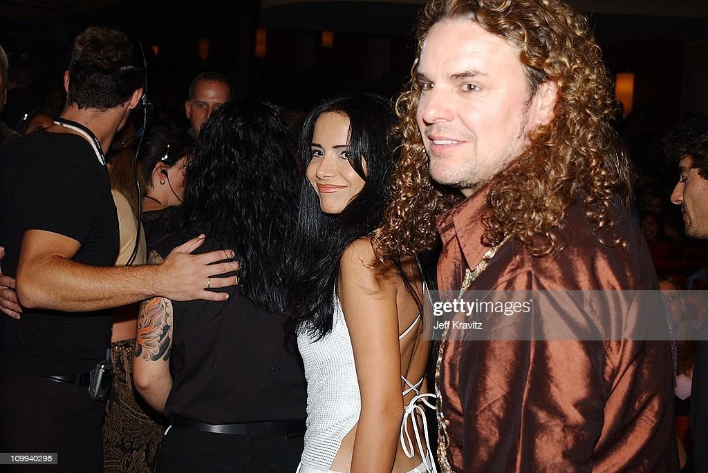 Fher Olvera of Mana during MTV Video Music Awards Latinoamerica 2002 at Jackie Gleason Theater in Miami, FL.