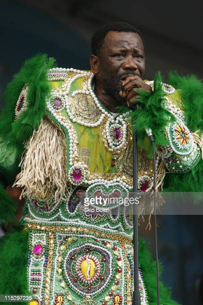 Fi Yi Yi and the Mandingo Warriors during 37th Annual New Orleans Jazz Heritage Festival Presented by Shell Fi Yi Yi and the Mandigo Warriors at New...
