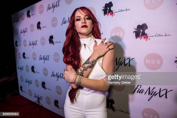Fia NyXX attends her album release party at The Mint on March 29 2018 in Los Angeles California
